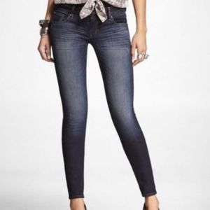 Express Ultra Low-rise Skinny Leg Jeans